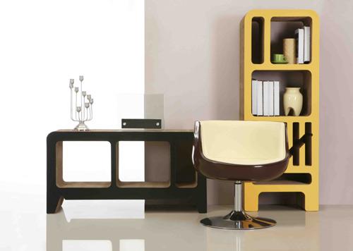 Reinhard Dienes Cardboard Bookshelves