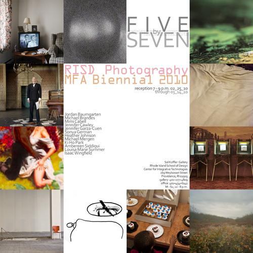 RISD Photography MFA Biennial in main art  Category