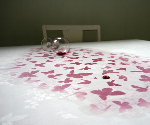 Underfull Table Cloth by Kristine Bjaadal