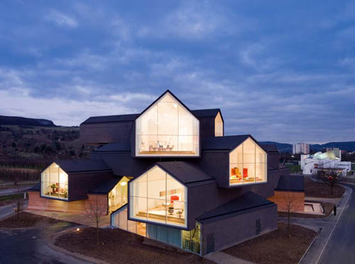 VitraHaus in Germany by Herzog & de Meuron