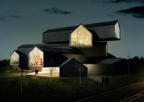 VitraHaus in Germany by Herzog & de Meuron in main architecture  Category