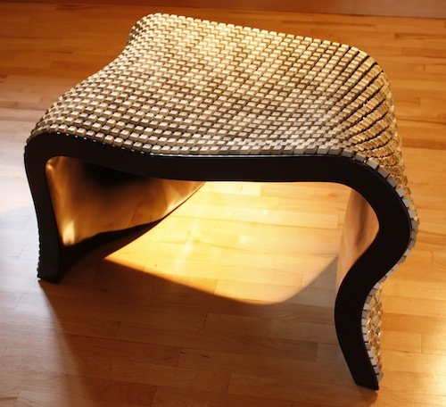Wolfgang Keyboard Bench by Nolan Herbut in home furnishings  Category