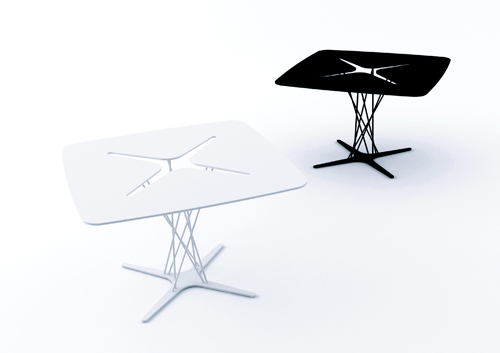 X Table by Michael Bihain in main home furnishings  Category