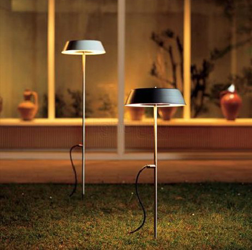 The Outdoor Floor Lamp