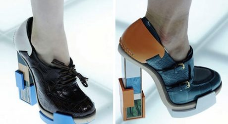 Architectural Shoes by Balenciaga