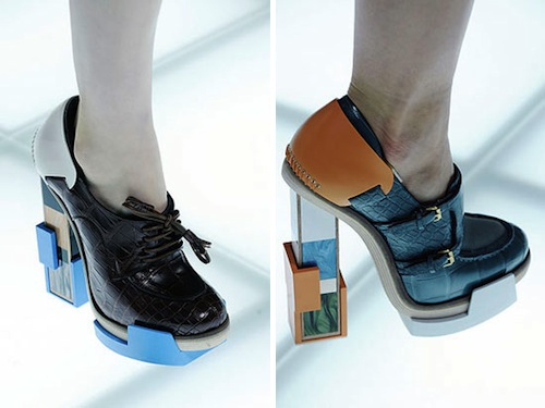 Architectural Shoes by Balenciaga