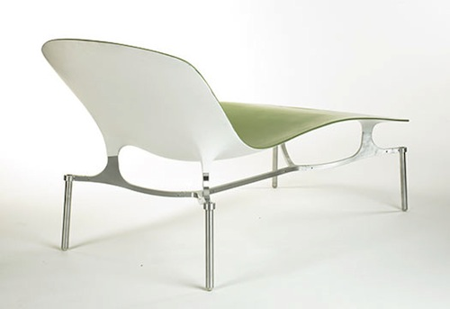 Billet Chaise by Michael W. Dreeben in main home furnishings  Category
