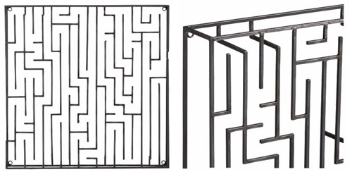 CB2 Maze Wall Hanging in main home furnishings  Category