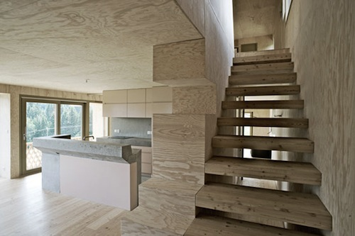 Chalet Lanel in France by Andreas Fuhrimann and Gabrielle Hächler in main architecture  Category
