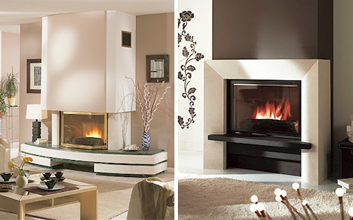 Fireplaces by Chazelles in interior design home furnishings  Category