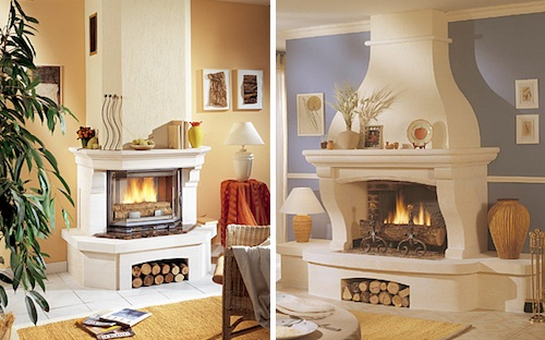 Fireplaces by Chazelles Design Milk