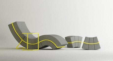 Curve Frame Sofa Set