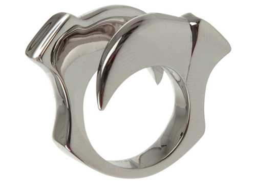 Double Claw Ring by Dominic Jones