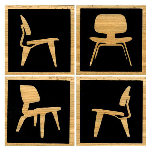 Eames Chair Coasters