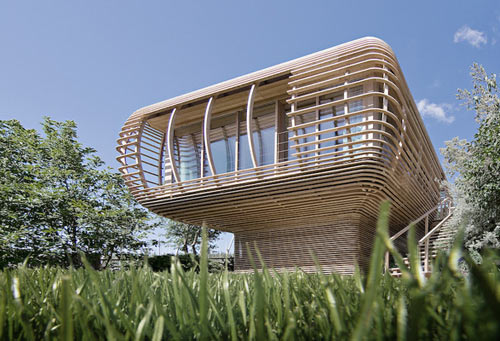 Fincube by Studio Aisslinger in architecture  Category