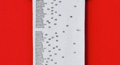 Gregor Calendar by Patrick Frey