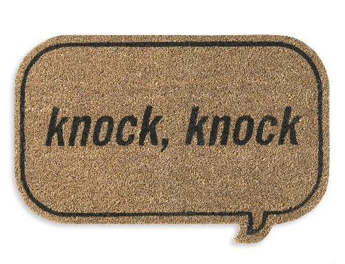 Knock Knock…Who's There?