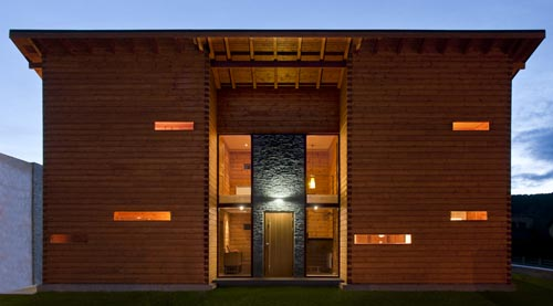 Log Home in Spain by Nordicasa Design & Construction