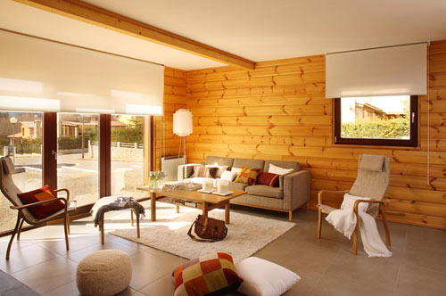 Log Home in Spain by Nordicasa Design & Construction in architecture  Category