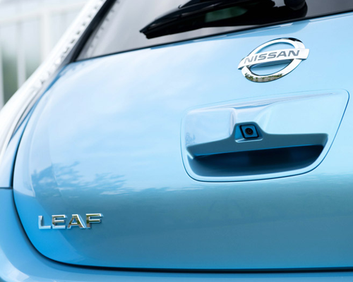 Nissan LEAF Electric Car in technology main  Category