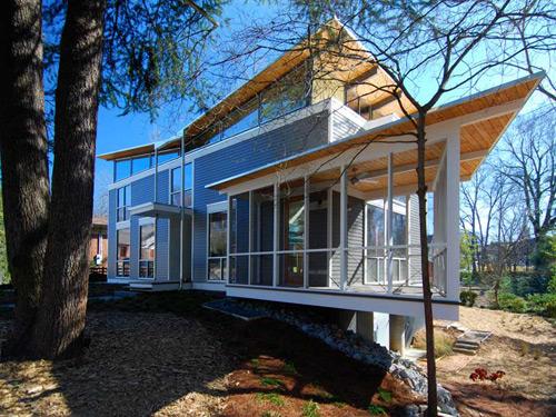 RainShine House in Georgia by Robert M. Cain
