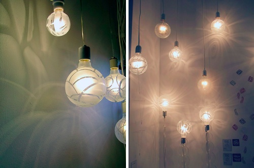 Shadow Bulbs by Melissa Borrell in home furnishings  Category