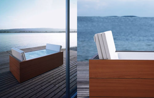 the outdoor bathroom design milk. Black Bedroom Furniture Sets. Home Design Ideas