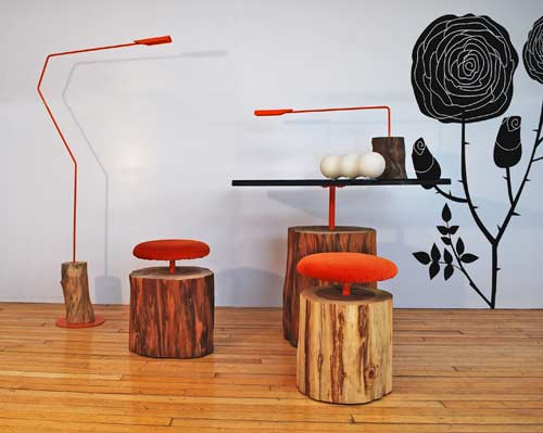 Urban Logs Collection by Ilan Dei Studio in home furnishings  Category