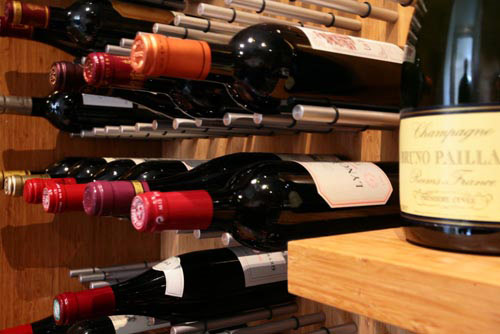 Vin de Garde Custom Wine Cellars in main interior design  Category