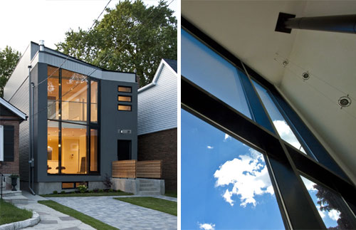 63 Degree House in Canada by Atelier rzlbd