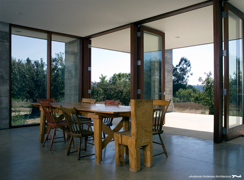 Orchard House in California by Anderson Anderson Architecture in architecture  Category