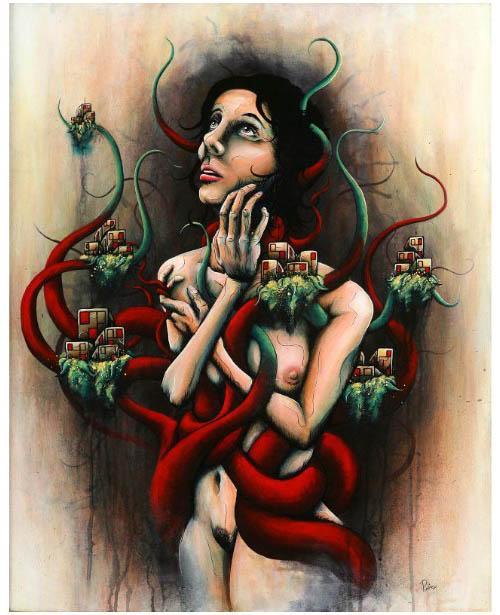 Daryll Peirce in main art  Category