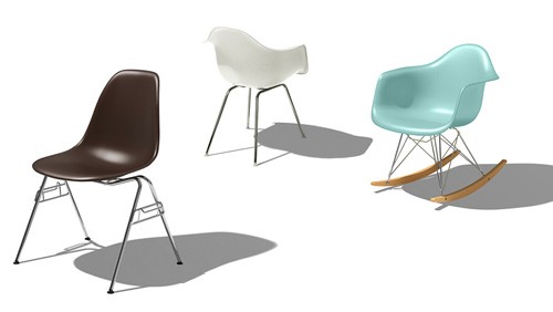 Herman ...  sc 1 st  Design Milk & Herman Miller Launches New Eames Chairs - Design Milk
