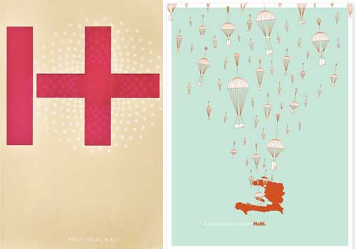 The Haiti Poster Project in main art  Category