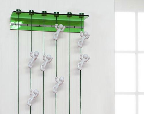 MagicBeans Coat Hanger by Giving Shape