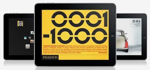 Phaidon Design Classics for iPad