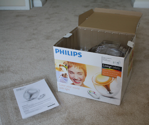Philips LivingColors LED Lamp
