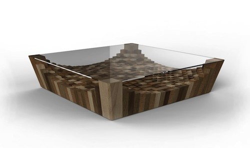 Sarrafo Coffee Table by Notus Design in home furnishings  Category