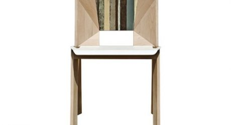 Scrap Facet Chair by Thinkk
