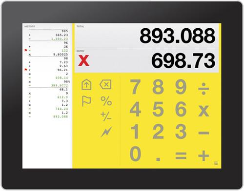 Shift Apps Digits Calculator for iPad