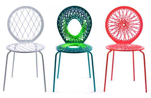 Stretch Chairs by Jessica Carnevale