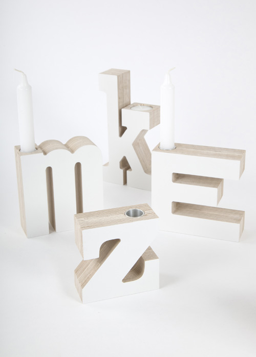 Studio Yra Vers Libre Candle Holders in main home furnishings  Category
