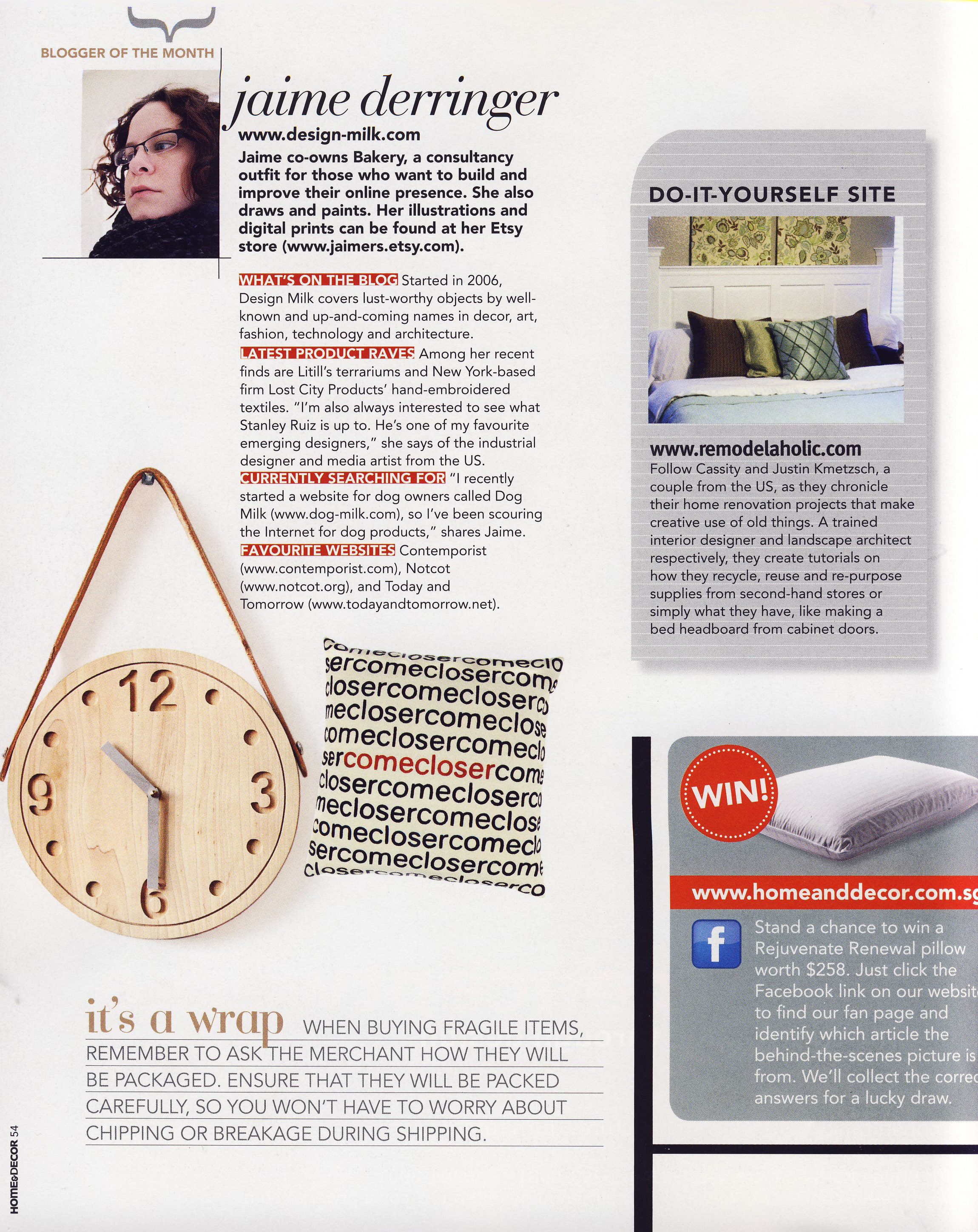 Thank You Singapore Home & Decor Magazine - Design Milk