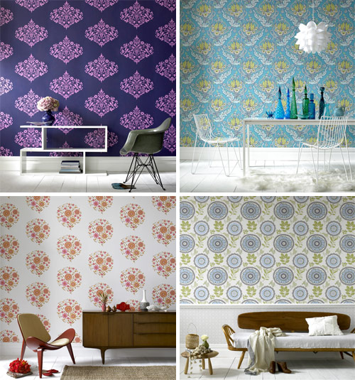 wallpaper designs for home. flowery for my own home.