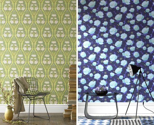 Amy Butler and Kelly Hoppen Wallpaper in home furnishings  Category