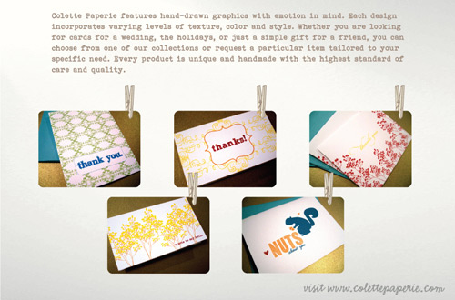 Colette Paperie Giveaway in sponsor main  Category