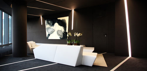 Crystal Tower Interior Design in Spain by A cero in main interior design architecture  Category