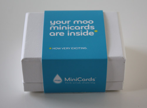 MOO Cards in style fashion main  Category