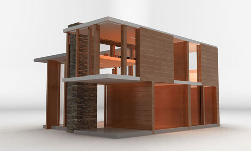 The Emerson Dollhouse by Brinca Dada in technology style fashion main home furnishings architecture  Category