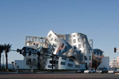 Lou Ruvo Center for Brain Health in Las Vegas by Frank Gehry
